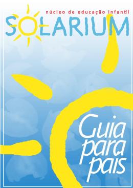 Guia para pais - Núcleo de Educação Infantil SOLARIUM