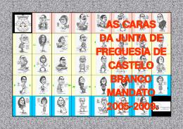 as caras da junta de freguesia de castelo branco mandato 2005-2009