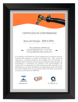 Certificate direction bar 004 086 2015