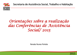 Conferências 2015 - Renata Nunes