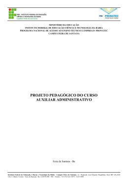 auxiliar administrativo - Feira de Santana