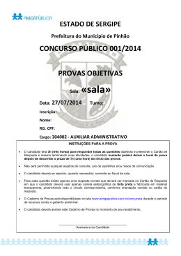PR - 304002 - AUXILIAR ADMINISTRATIVO