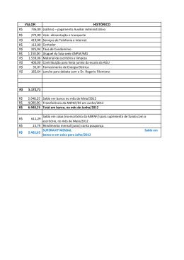 R$ 736,00 (salário) – pagamento Auxiliar Administrativo R