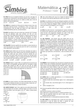 20. SB-20 - Lista 17 - Esferas