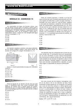 MÓDULO 54 - EXERCÍCIO 15