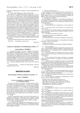Aviso n.º 10755/2012