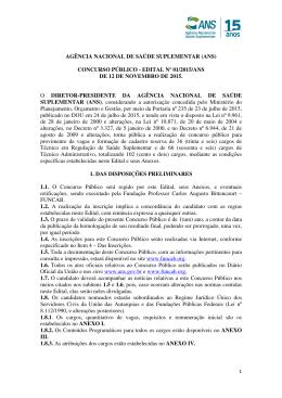 edital de abertura nº 01/2015
