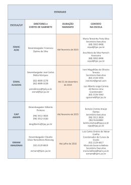 LISTA CONTATO DAS ESCOLAS atualizada em 27_08_2014