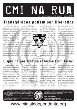 Rio de Janeiro - Centro de Mídia Independente