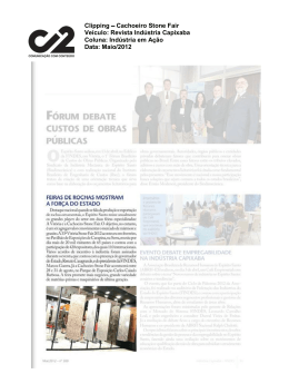 Clipping – Revista Indústria Capixaba