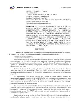 TCU - Contratação emergencial sem licitação, deve estar