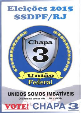 Chapa 3 - Sindicato dos Servidores do Departamento da policia