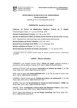 Dezembro 2014 - Tribunal de Justiça do Estado do Rio Grande do Sul