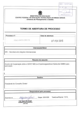 1 - CEFET-MG NavInfo