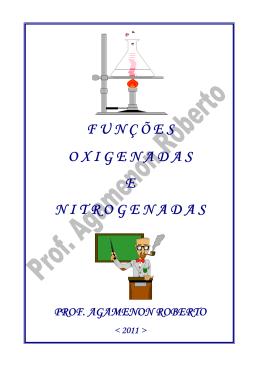 funções oxigenadas e nitrogenadas-teoria - Química