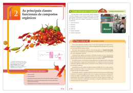 As principais classes funcionais de compostos orgânicos 2