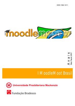 Anais 2007 - MoodleMoot Brasil 2014