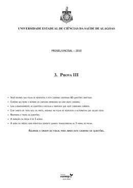 3. Prova III