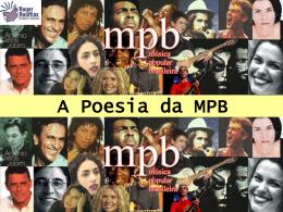 MPB da Bossa aos anos 80