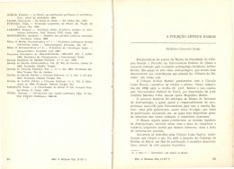 A coleção Arthur Ramos - Revista de Ciências Sociais