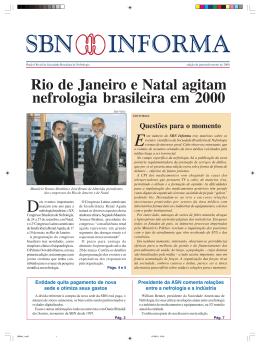 01 - Sociedade Brasileira de Nefrologia