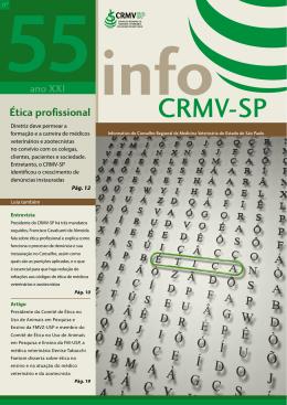 Baixar o Informativo - CRMV-SP