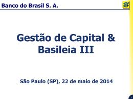 Gestão de Capital & Basileia III