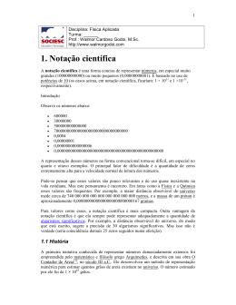 1. otação científica - Walmor Cardoso Godoi