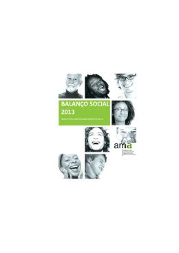 balanço social 2013 - Agência para a Modernização Administrativa