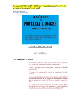A-gênese-da-PORTARI.. - PORTAL dos Cabos da F.A.B.
