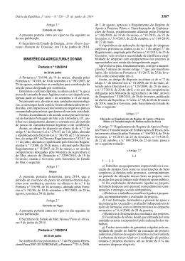 Portaria n.º 129/2014