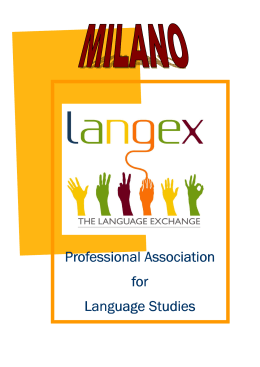 Copertina 1 - the language exchange