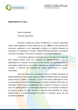 525/13 - Câmara Municipal de Manaus