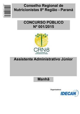 Assistente Administrativo Júnior