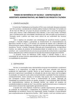 TDR nº 02 - Assistente Administrativo-NS