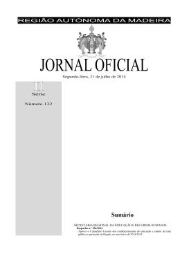 Calendário Escolar 2014/2015 - Governo Regional da Madeira