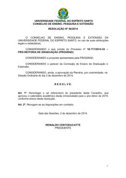 Resolução nº 56/2014