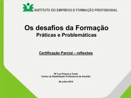 Anexo 6 - Certificação parcial