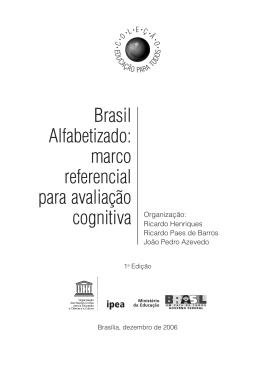 marco referencial para avaliação cognitiva