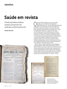 Saúde em revista - Revista Pesquisa FAPESP