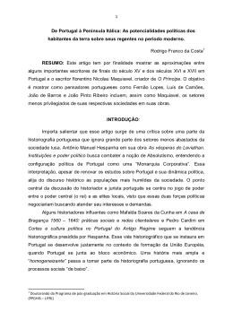 Rodrigo Franco da Costa - revista tempo de conquista