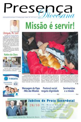 Outubro - Diocese de Santos