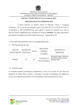 edital de abertura nº 301/2015