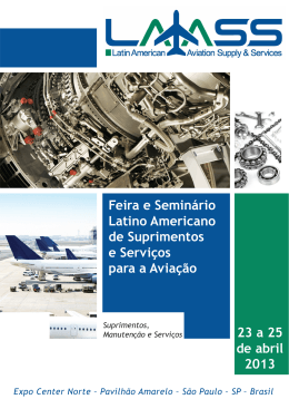 laass 2013 - Latin American Aviation Supply & Services