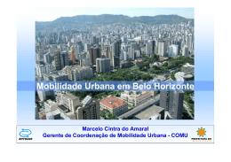 Mobilidade Urbana em Belo Horizonte