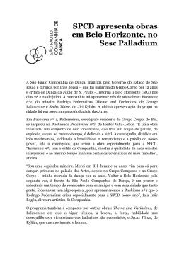 SPCD apresenta obras em Belo Horizonte, no Sesc Palladium