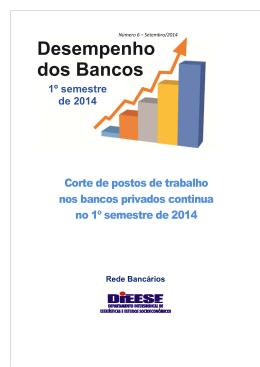 Desempenho dos Bancos no 1º semestre de 2014