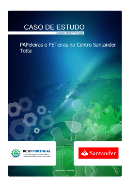 CASO DE ESTUDO - BCSD Portugal