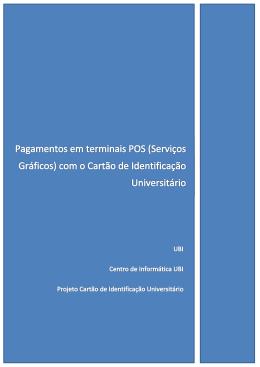 Serviços Gráficos - CIU-UBI
