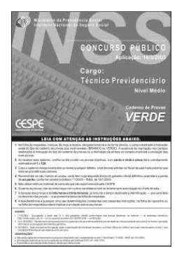 Verde - CESPE / UnB